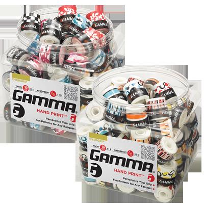 Намотка на теннисную ракетку Gamma Hand Print