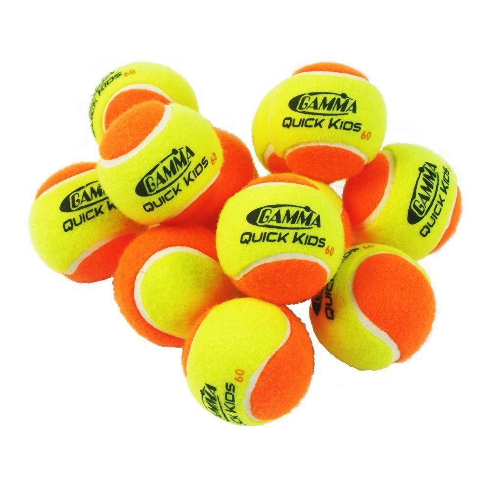 Оранжевые теннисные мячи