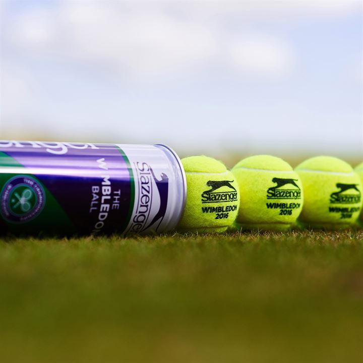 Теннисные мячи Slazenger Wimbledon Ultra-Vis