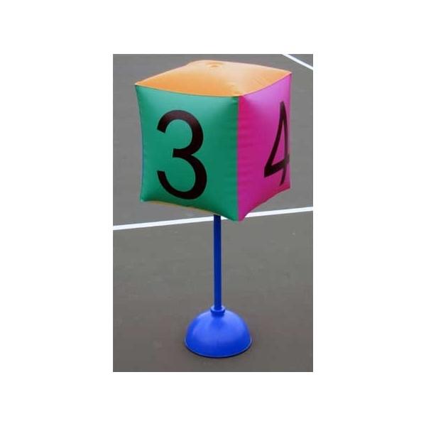 Надувная мишень Blow-Up Cubes