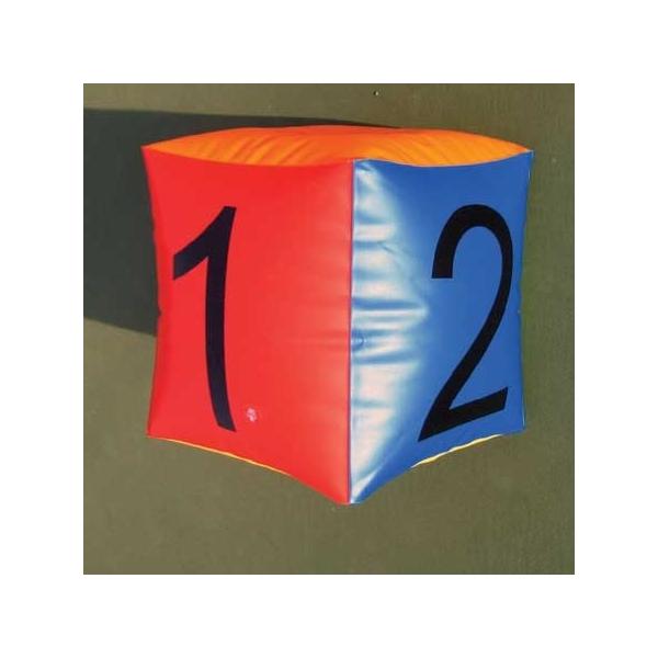 Надувная мишень Blow-Up Cubes (2 кубика + стойка)