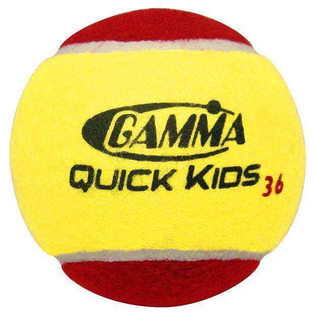 Детские теннисные мячи Gamma red 36