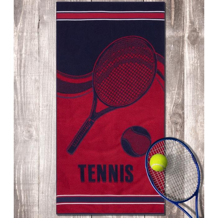Полотенце пляжное теннис