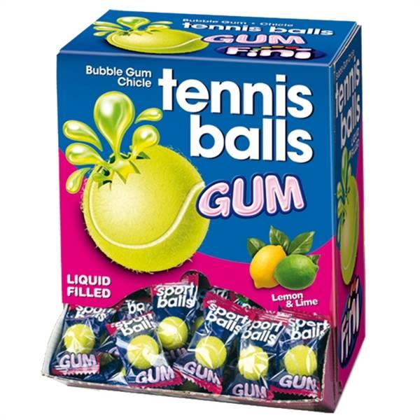 Жевательная резинка теннисные мячи