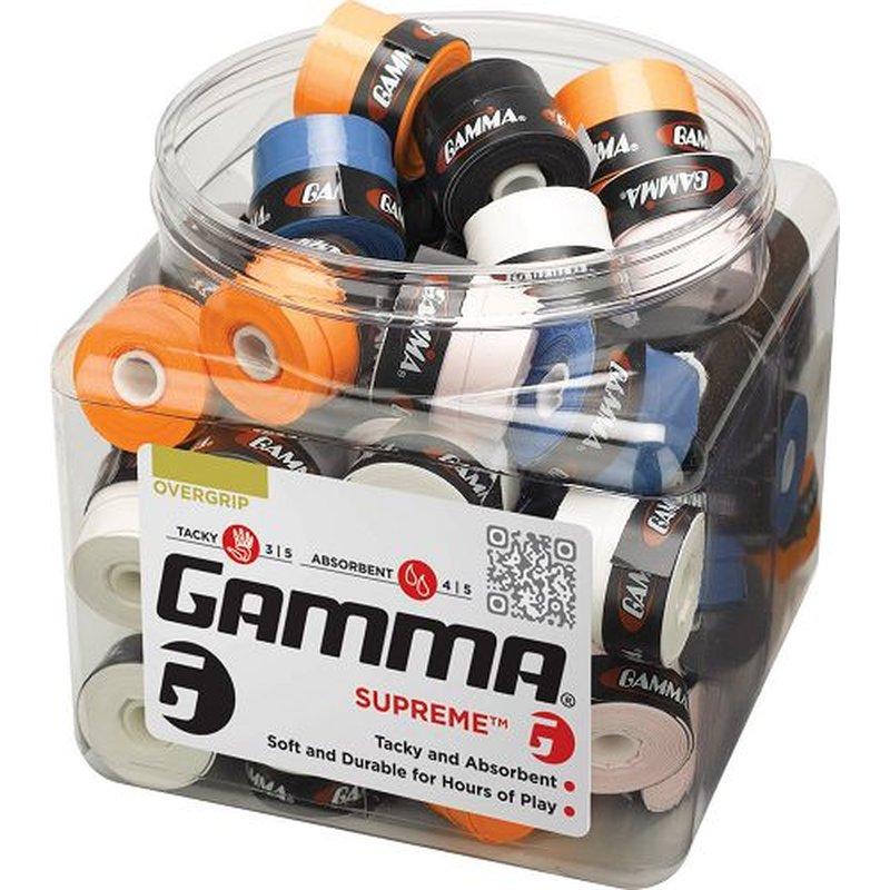 Теннисная намотка Gamma Supreme в банке.