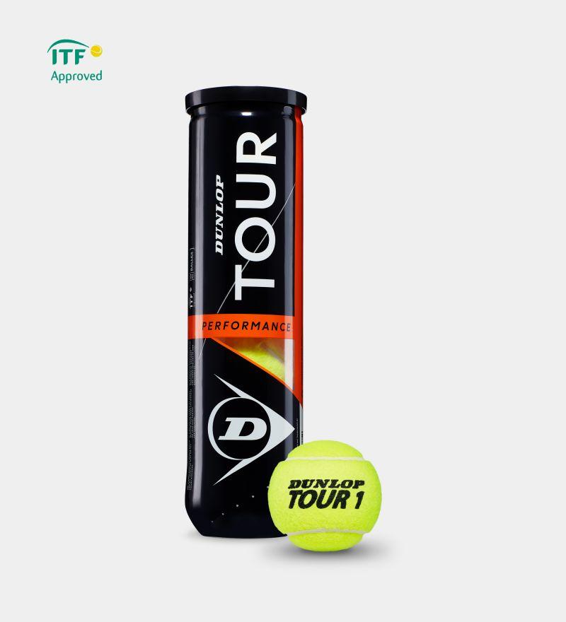 Теннисные мячи Dunlop Tour Performance